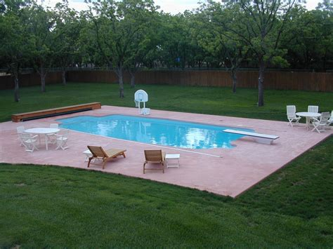 american backyard pools thinking about a fiberglass pool you don t have to think