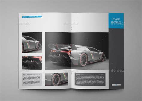 car brochure template car a4 indesign brochure template 0036 by annozio