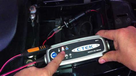 Motorradbatterie Im Eingebauten Zustand Laden by Gelbatterien Aufladen Motorrad Batterie Aufladen