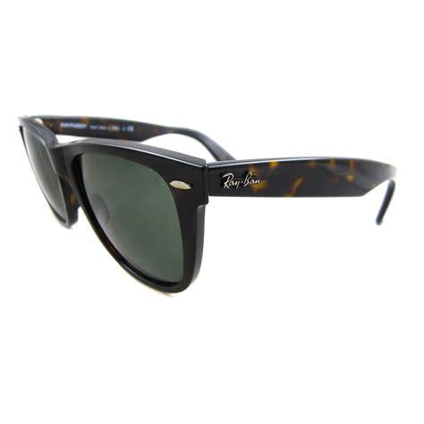 Ban Wayfarer ban sunglasses wayfarer 2140 902 tortoise green g 15 large 54mm ebay
