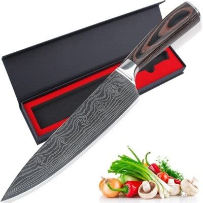 premium chef knife inofia 8 inch professional japanese top 10 best professional chef knives in 2018 reviews