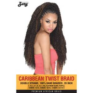 crochet braids with the caribbean twist hair zury caribbean twist crochet braid 20 quot