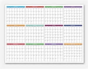 Calendar 2018 Year At A Glance Big Happy Planner 2018 Year At A Glance Calendar