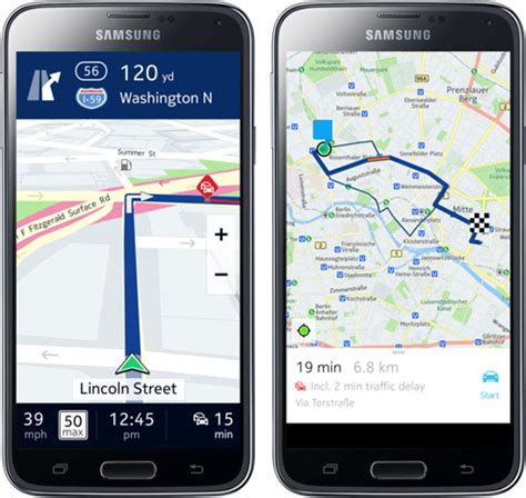 here maps android nokia here maps arrive on android ubergizmo