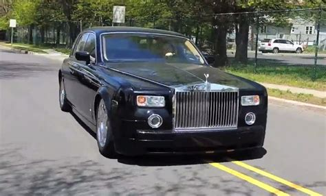 stanced rolls royce this is the most abused rolls royce phantom you ll ever