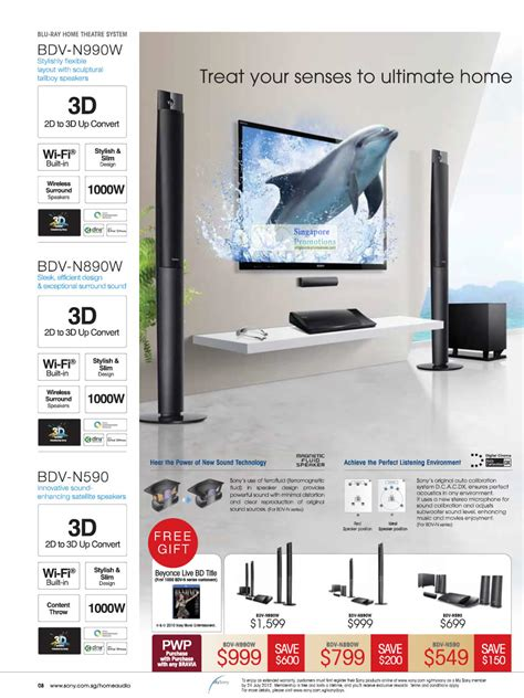 Home Theater Sony Bdv N990w home theatre system bdv n990w bdv n890w bdv n590 187 sony days 2012 sale 25 may 8 jul 2012
