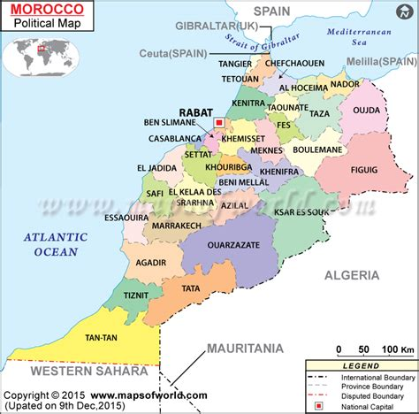 From Colonization To National State The Political Demography Of Indon 1 where is morocco location of morocco