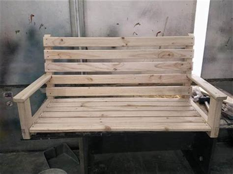 how to make a swing out of pallets easy pallet swing