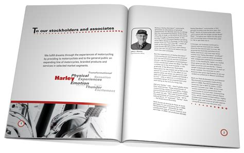 Annual Report President S Letter Harley Davidson Annual Report Coda Moda