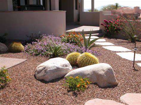 Small Backyard Desert Landscaping Ideas Xeriscape Contest Winners 2006