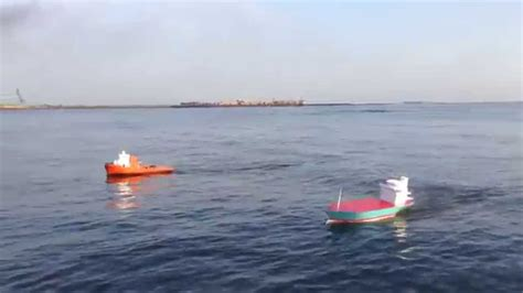 rc boats sinking youtube rc container ship and rc tug boat homemade probolinggo