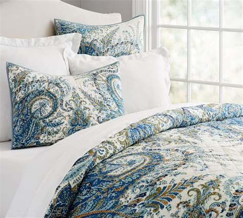 pottery barn comforters and quilts ellis quilt sham pottery barn
