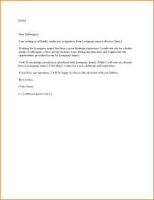 Resignation Letter For A New Opportunity doc 585541 resignation letter better opportunity