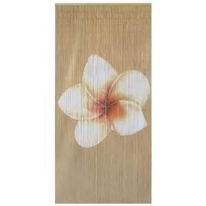 Details about bamboo beaded door curtain plain frangipani