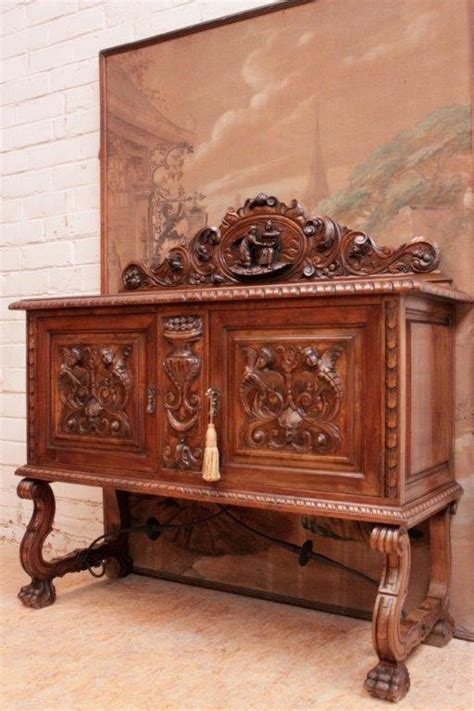 antique dining room buffet antique spanish dining room sideboard server wonderful carved