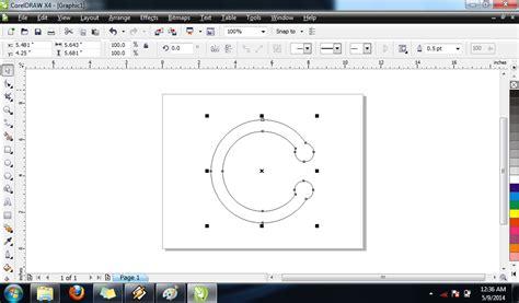 tutorial corel draw x4 membuat logo tutorial langkah langkah membuat logo carrefour