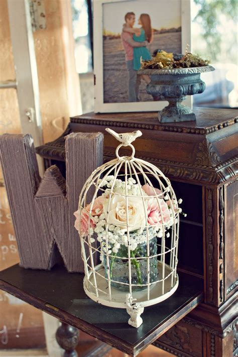 25  best ideas about Bird cage centerpiece on Pinterest