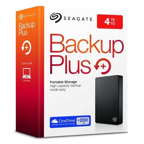 Murah Seagate Harddisk External 2tb Back Up Plus Slim Pouch seagate 4tb backup plus portable usb 3 0 2 5 inch external drive black stdr4000200 buy