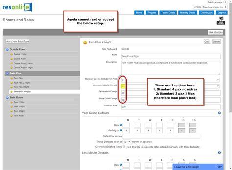 agoda email support agoda extra adult setup resonline