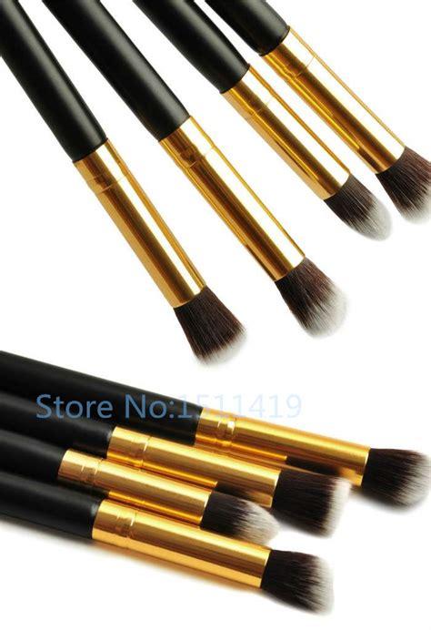 The 1set 1set 4pcs professional eye brushes set eyeshadow