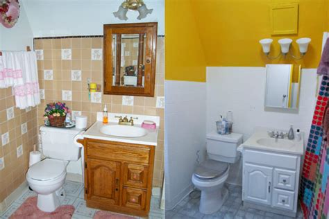painting bathroom tiles before and after you can paint tile