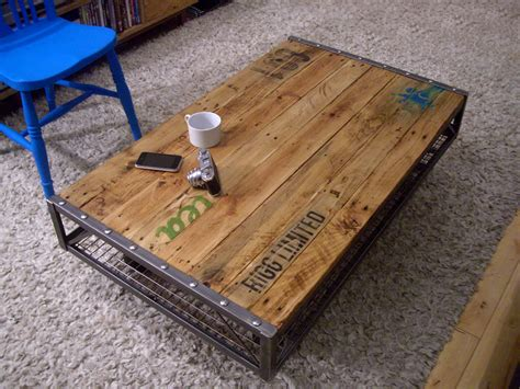 Pallet Coffee Tables Industrial Pallet Coffee Table