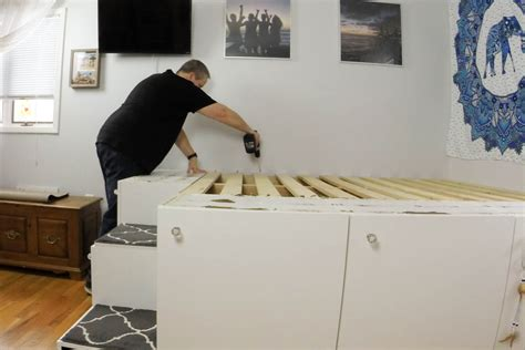 IKEA Hack Platform Bed ? Freestanding Version ? HandyDadTV