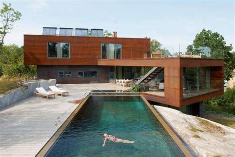 Ville Moderne Con Piscina by Ville Moderne Di Design Foto 9 40 Design Mag