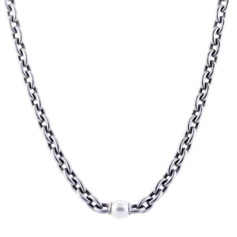 Chain Of Pearl 1 2 pearl chain necklace 2 raymond jewelers