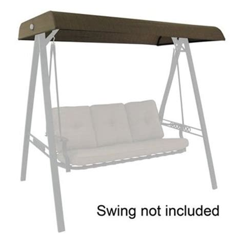 lowes swing set parts garden treasures north haven swing replacement canopy