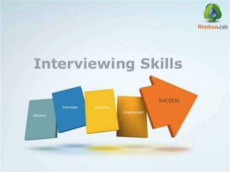 Job Resume Skills by Interviewing Skills Rimbun Job Agency