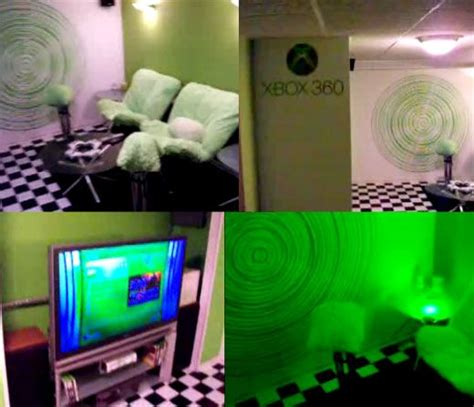 Slightly Green xbox 360 room has me slightly green with envy home sweet