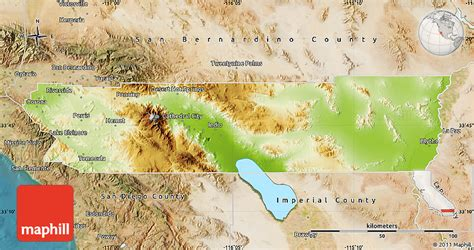 us map riverside california physical map of riverside county satellite outside