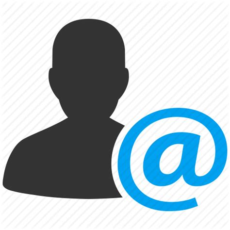 Profile Email Search Account Avatar Client Contact Customer Email Human Manager Member