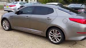 Silver Kia Optima 2015 Kia Optima Sxl Titanium Silver