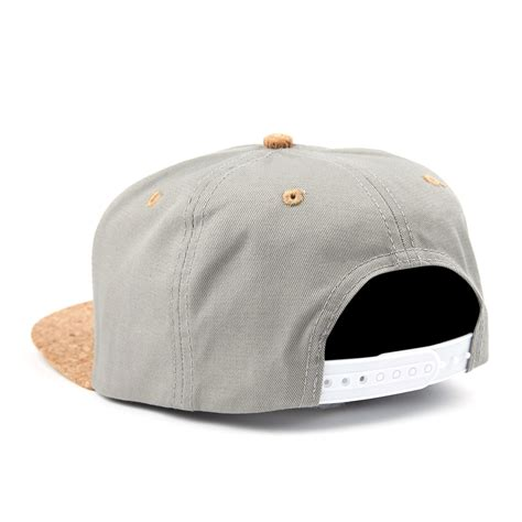 Topi Strapback Supply Grey cork supply co snapback hat grey ultra accessories touch of modern