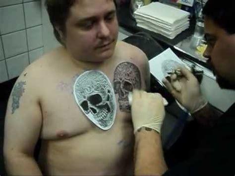 megadeth tattoo fail rico tattooing a celtic skull skins needles south