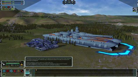 supreme commander forged alliance experimental land battleship mod for supreme commander