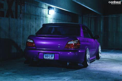purple subaru purple pavement eater sam sapula s 2007 subaru wrx sti
