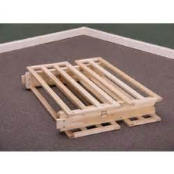 Wooden Folding Bed Solid Wood Folding Bed Frame 797 Kdfs Rollaway Beds