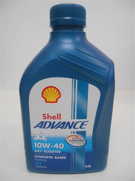 shell advance 4t ax7 scooter 0 8l 10w 40 smmb sejahtera distributor oli shell helix