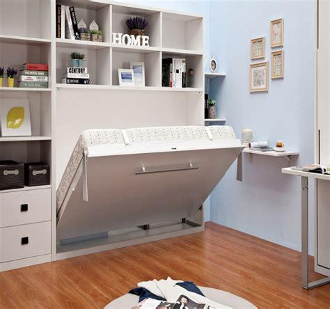 Tempat Tidur Lipat Ke Dinding ratu ukuran lipat bawah dinding kabinet tidur murphy