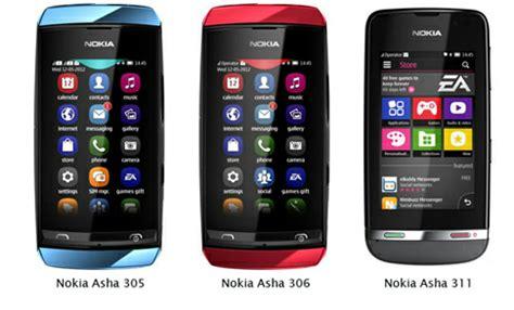 Casing Hp Nokia Asha 306 Cilacap Teknologi 3 Handphone Layar Sentuh Terbaru Nokia Asha 305 Nokia Asha 306 Dan Nokia