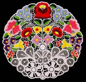 画像 ハンガリーの伝統工芸 カラフルでかわいく百花繚乱な カロチャ刺繍 の世界 画像資料集 naver まとめ