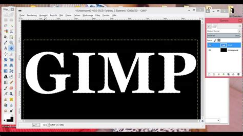 gimp tutorial deutsch anfänger gimp 2 8 tutorial deutsch bild effekte mit gimp youtube