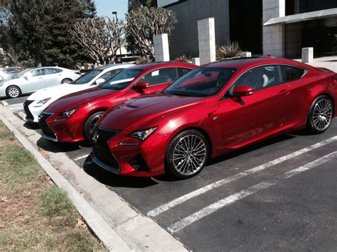 lexus rcf red rcf rc f sport at hq page 4 club lexus forums
