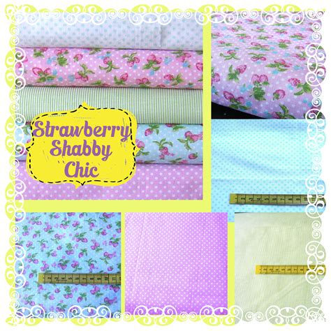 fabric remnants bundle shabby chic style quilting crafting