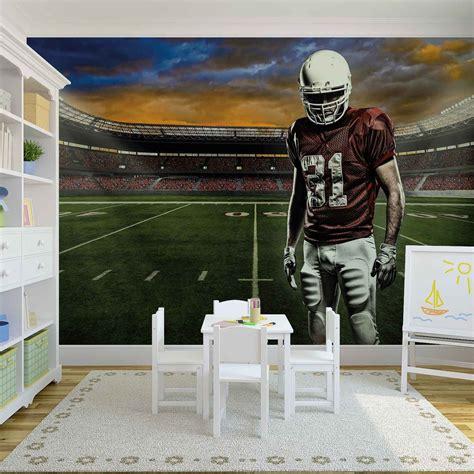 football wall murals for american football stadium wall paper mural buy at