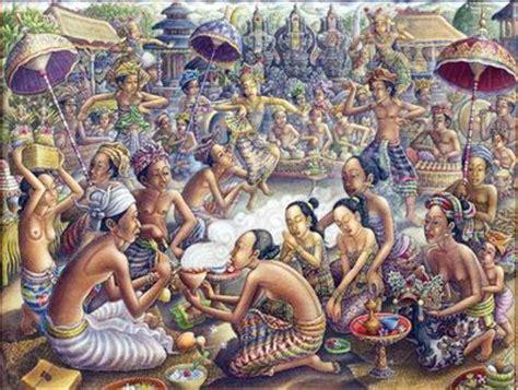 Lukisan Tradisi Kremasingaben Bali warna pita maha ubud di lukisan padangtegal terkini kabari news