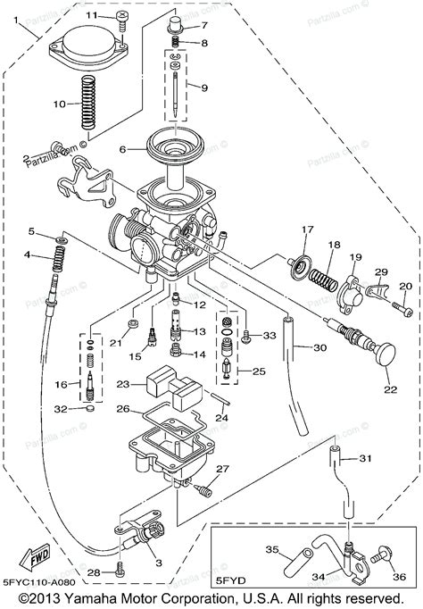 yamaha big 350 carburetor diagram yamaha big 350 parts diagram yamaha free engine